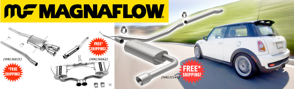 FREE Shipping! Magnaflow Performance Exhaust Kits!