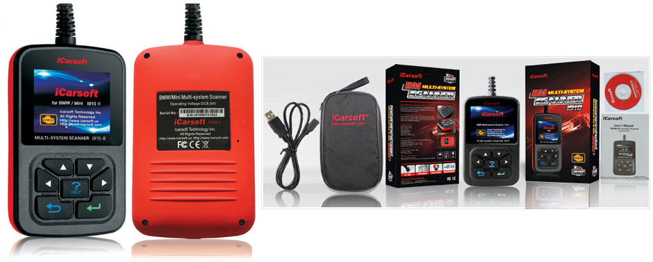 NEW! Diagnostic Systems for MINI by iCarsoft!