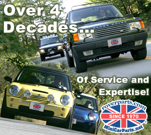 MINI Car Parts Exceptional Customer Service Since 1970