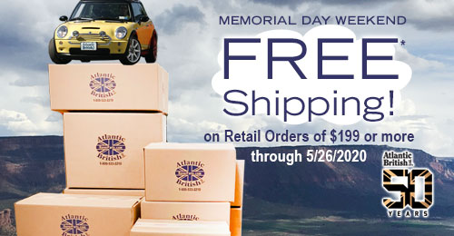 Free* Shipping on Orders of $199 or more...