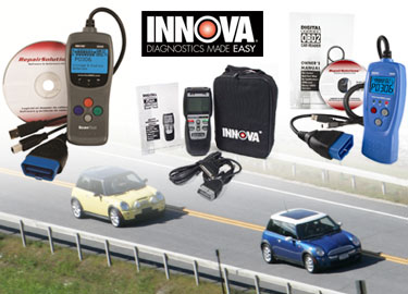 OBD2 Diagnostic & Scan Tools from Innova / Equus