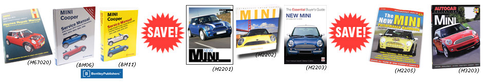 MINI Cooper Workshop Manuals & Books On SALE