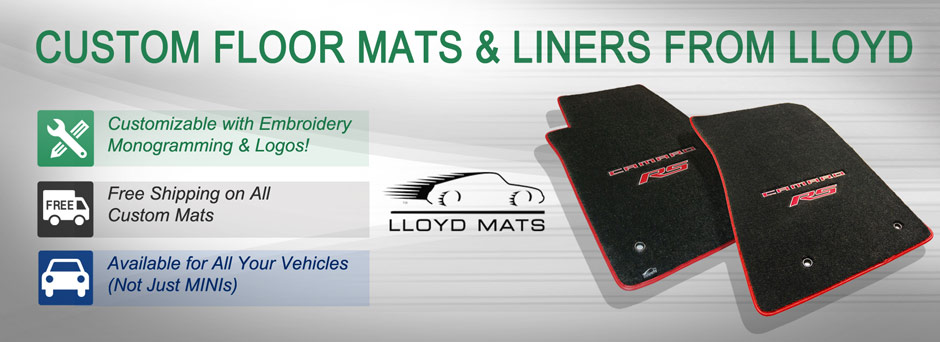 Custom Floor Mats & Liners From Lloyd